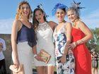 Ruan Bimrose, Hollie Bimrose, Stephanie Burns and Sarah Meesham at the Ferguson Park races
