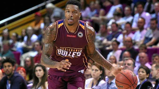 Torrey Craig of the Brisbane Bullets scored 17 points against the Breakers.