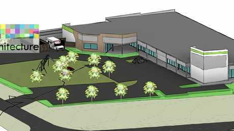 An artist impression of the new Gracemere Health medical precinct.