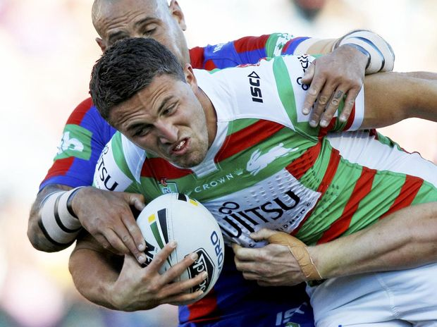 Rabbitohs forward Sam Burgess will lead England in the Four Nations.