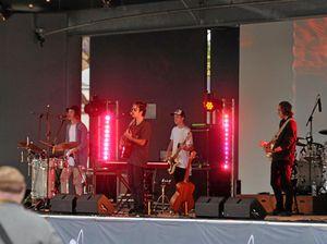 Rocking gig underway