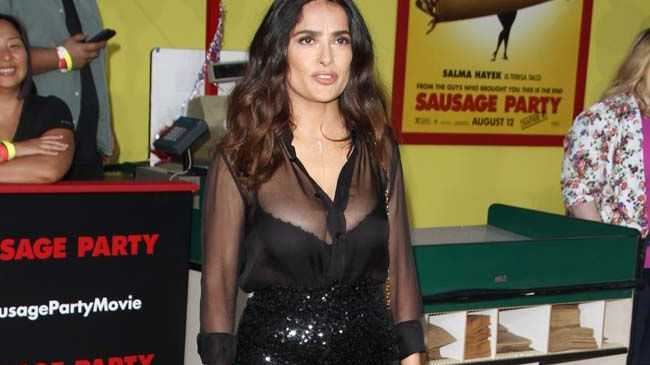 Actor Salma Hayek is the latest woman who says U.S presidential nominee Donald Trump acted inappropriately.
