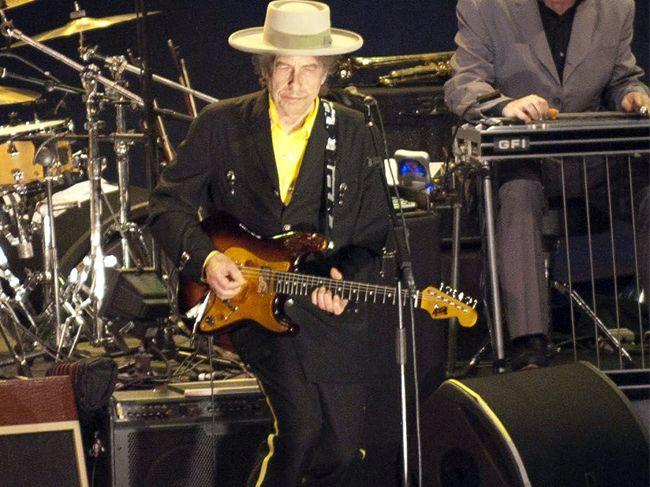Nobel Prize winner Bob Dylan.