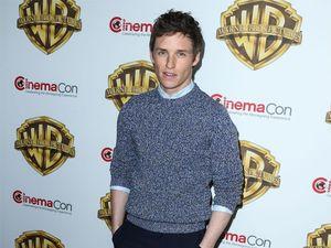 Eddie Redmayne's stage fright on latest Harry Potter film