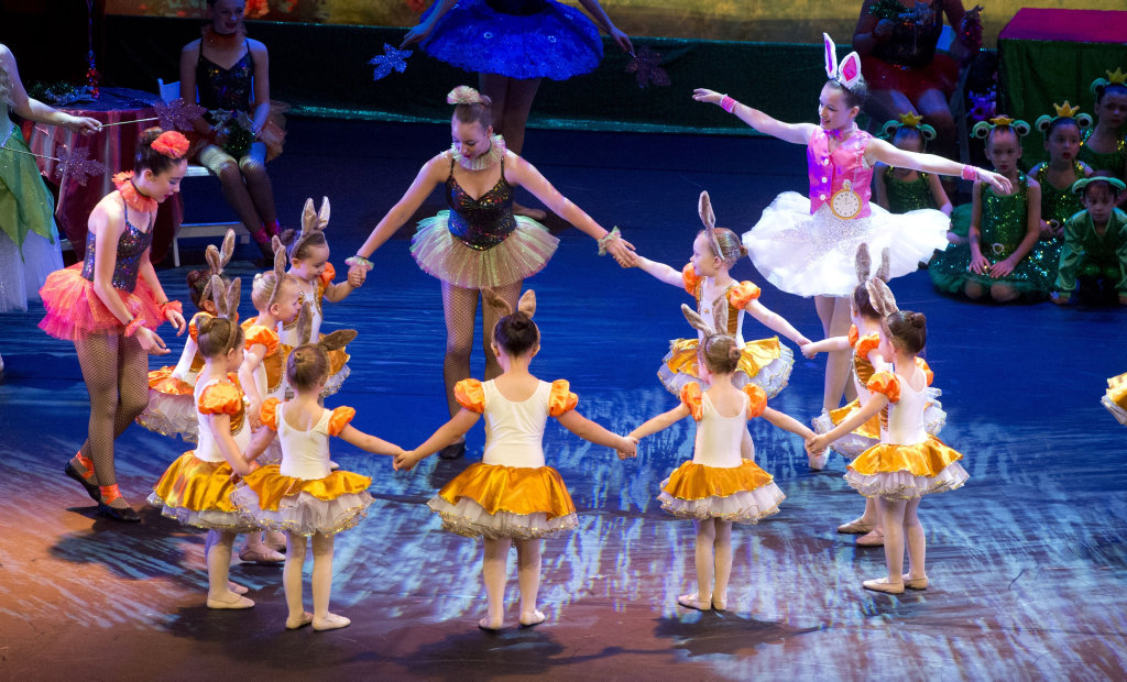 Toowoomba School of Dance A Christmas Wish peformance at the Empire Theatre . Saturday, Nov 28, 2015 . Photo Nev Madsen / The Chronicle