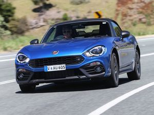 Hello gorgeous: Abarth 124 Spider road test and review