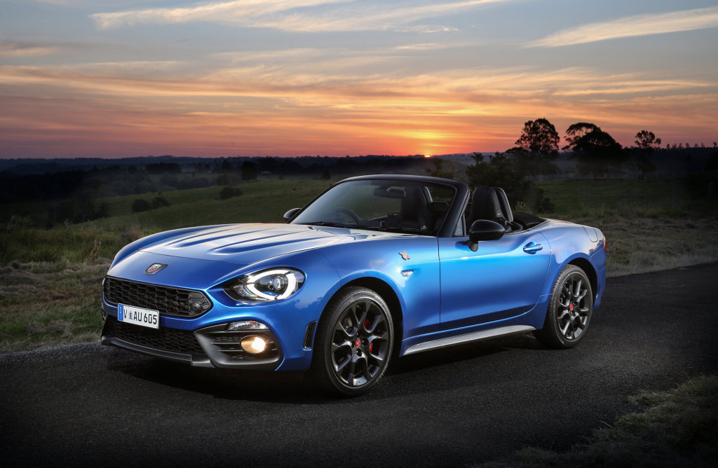 2016 Abarth 124 Spider.Photo: Contributed