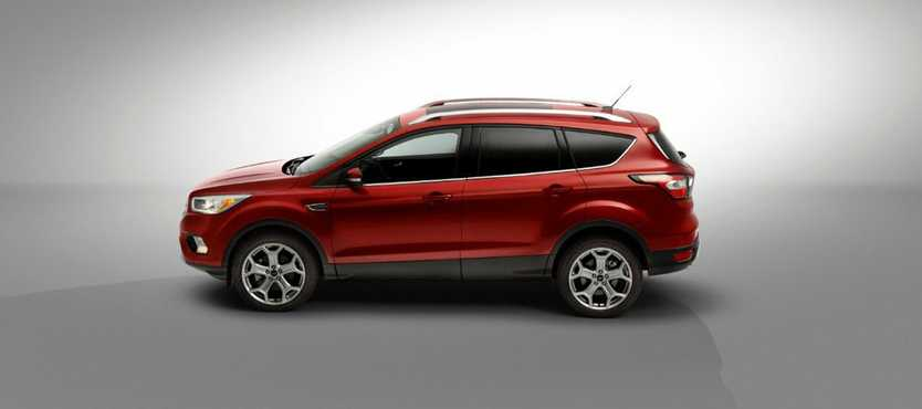 2017 Ford Escape mid-size SUV confirmed for Australia (overseas model shown).Photo: Contributed