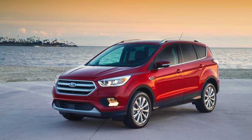 OUT WITH THE OLD: A sign of the times: final Falcon produced as Ford looks towards its SUV future with the new Escape model.