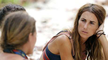Elena 'El' Rowland in a scene from the TV series Australian Survivor.
