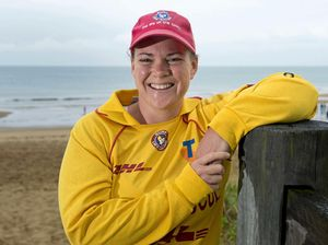 Life saving's very appealing for brave Nicole