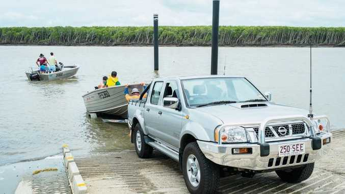 The Proserpine River boat ramp will be expanded to four lanes.