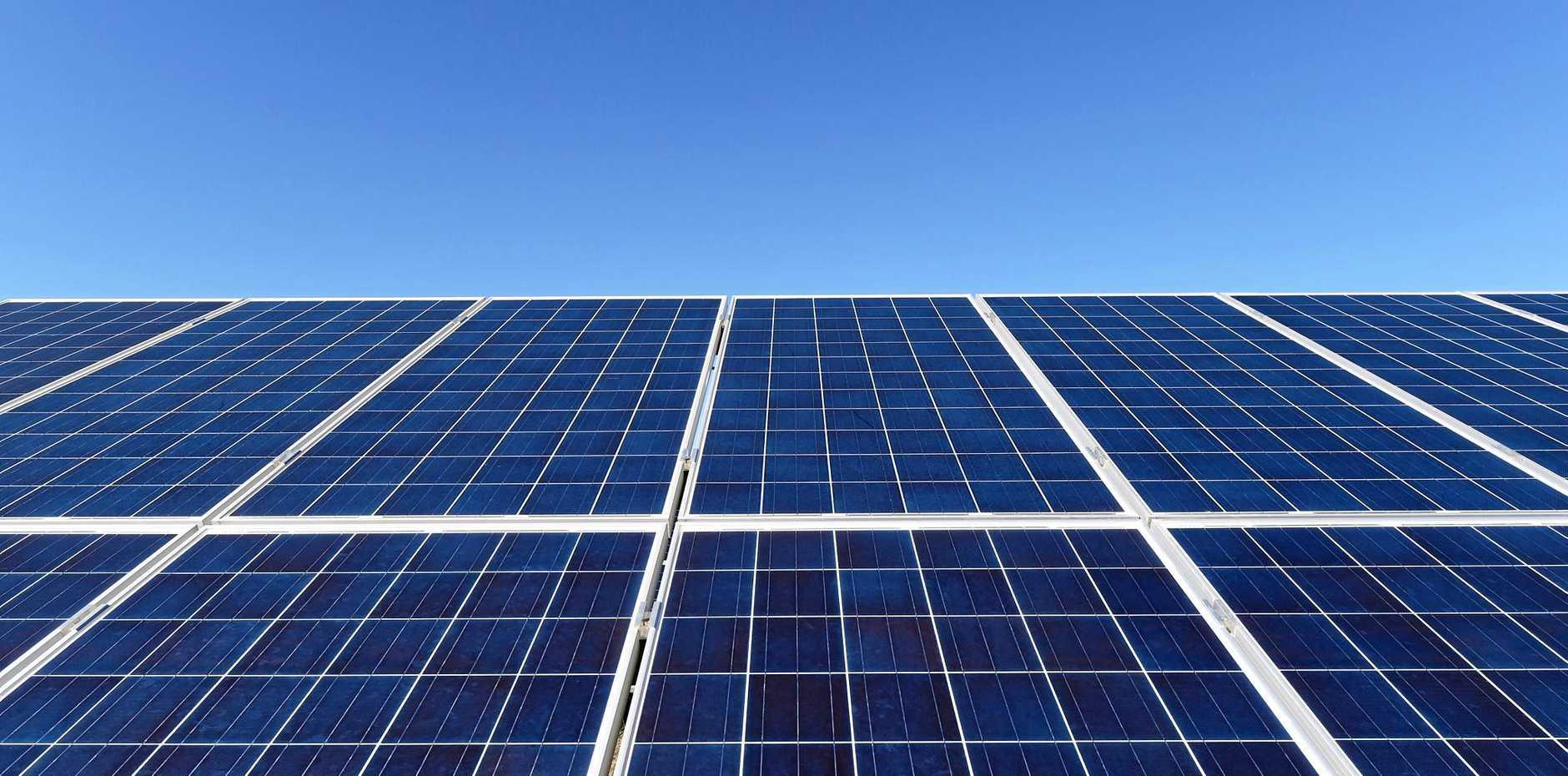 BRIGHT FUTURE: Solar farms could be the future for the South Burnett region.