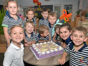Special day for new kindergarten