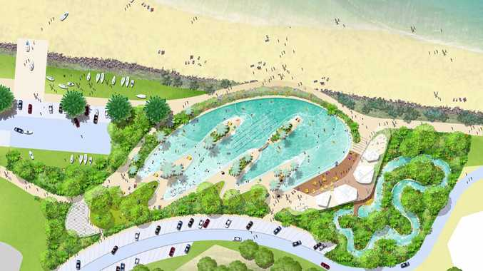 Completed Schematic Design of the Yeppoon Foreshore Revitalisation project