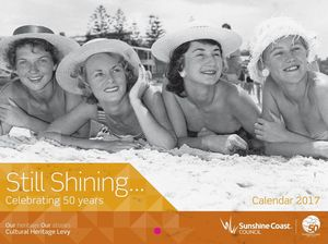 Calendar celebrates Sunshine Coast's 50th anniversary