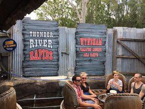 Dreamworld's Thunder River Rapids ride