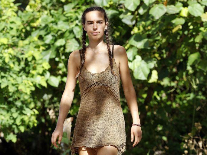 Kristie Bennett in a scene from Australian Survivor.
