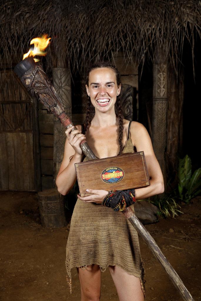 Kristie Bennett wins Australian Survivor.