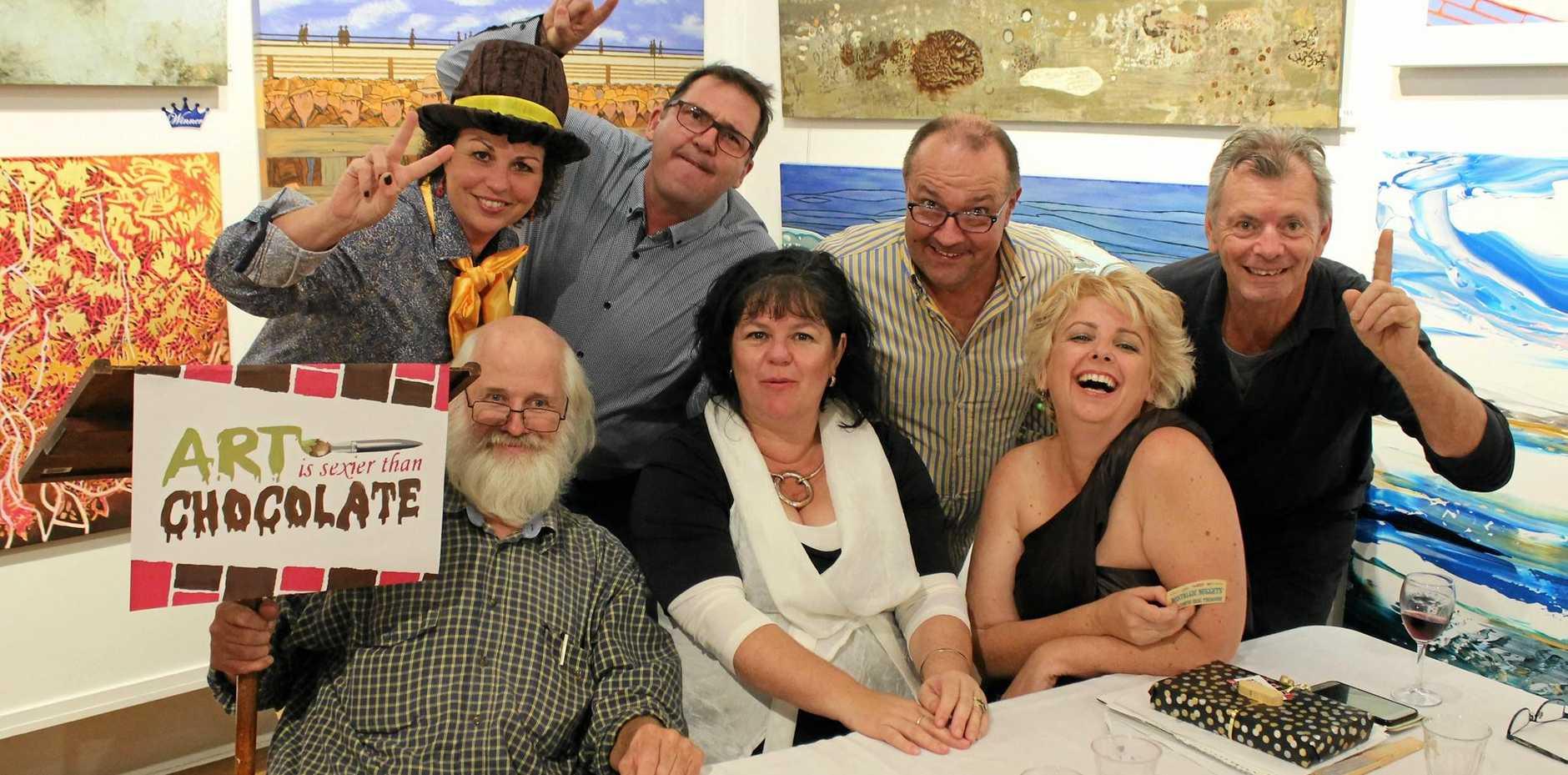GREAT DEBATE: The 2016 debating teams (back) Karen Blackburn, Bruce Devereaux, MC Cr Daryl Dodt, Warren Read and (front) Ian Mackay, Janet Lee and Audrey Plate.