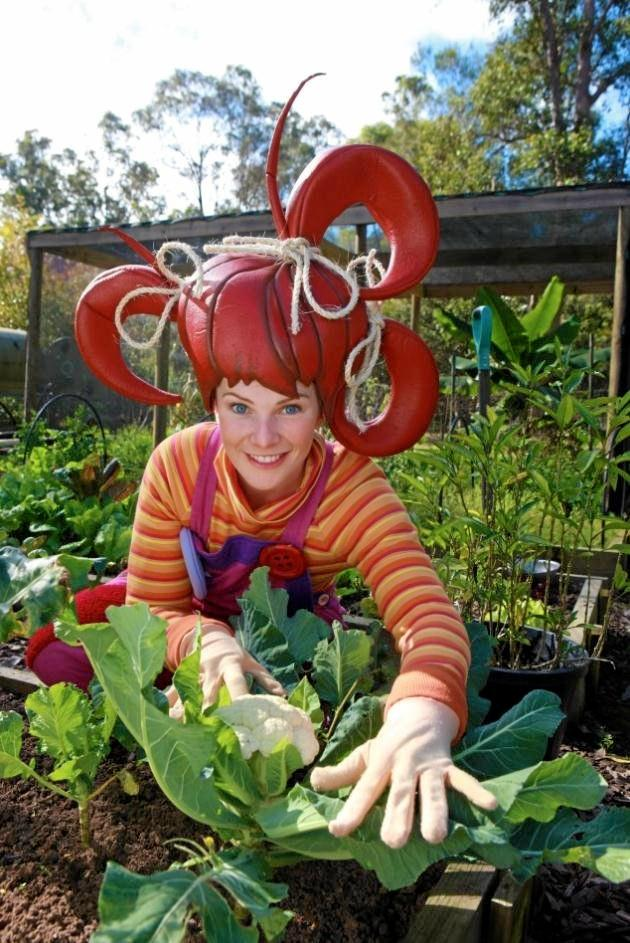 dirtgirlworld, starring Dirtgirl (pictured), has been nominated in the Resource Efficiency Category for its Get Grubby project