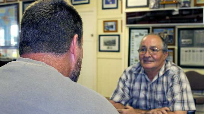 The man at the centre of the bureaucratic tussle speaks with Mackay Veterans Support Group advocate George Newton.