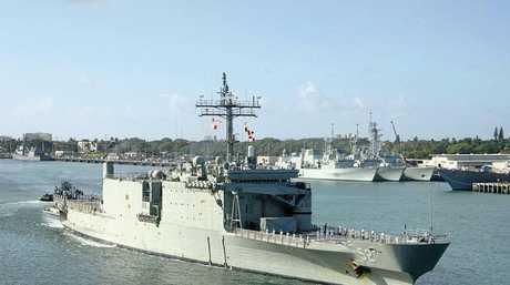 The man undertook ADF Operation Trek in 2001 with HMAS Manoora.