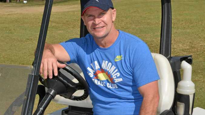 TEEING OFF: Allan Langer will be in action at Goondiwindi's Men of League Foundation event.