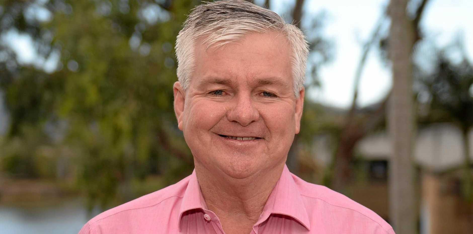 Rockhampton councillor Stephen Schwarten.
