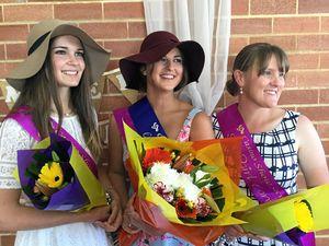 Showgirls shine after interviews