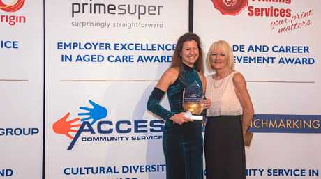 Conversations in English group leader Zita Stark won the Access Community Services Cultural Diversity Award.