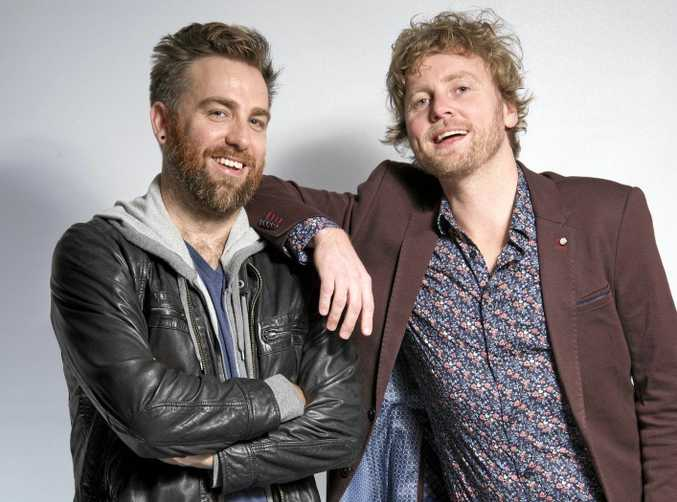Josh Pyke and Bob Evans are touring together.