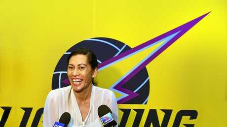 RECENTLY APPOINTED: Sunshine Coast Lightning coach Noeline Taurua.