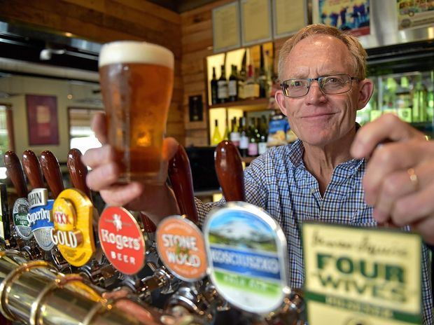 EXCITING TIMES: Brewmaster Chuck Hahn is looking forward to helping with the relaunch of the Eumundi Brewery at the Imperial Hotel Eumundi.