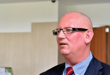 Women in policing - Bill Byrne (police minister). Photo: Alistair Brightman / Fraser Coast Chronicle