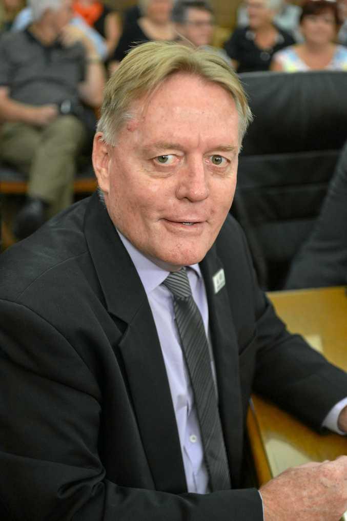 Cooloola Coast Councillor Mark McDonald will be considering a propsed jetty at Tin Can Bay.
