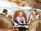 Stock photograph of Thunder River Rapids ride at Dreamworld.