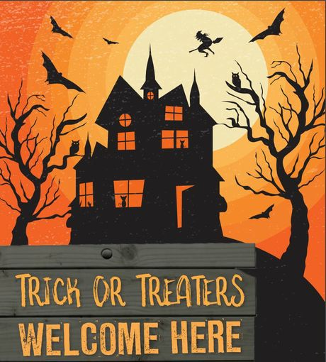 The Trick or Treat yes poster.