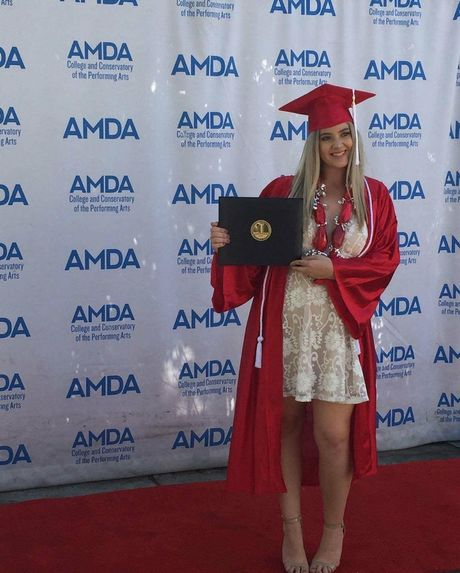 Phoebe Tweddle has graduates from the Americal Musical and Dramatic Academy.
