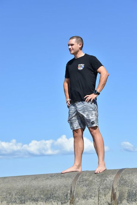 Hervey Bay pilot Troy Geltch - from flab to fit.