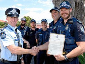 Lockyer Valley police honoured for taking down armed man