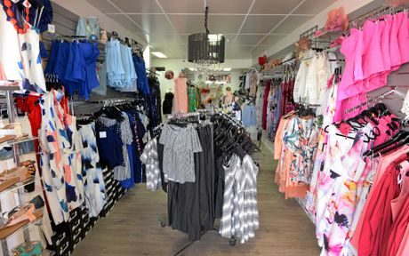 The newly renovated Zest fashion boutique in Yeppoon.
