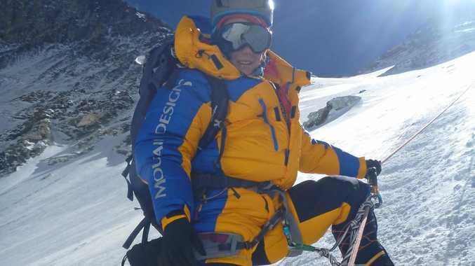 ADVENTOUROUS SPIRIT: Toowoomba's Alyssa Azar is the youngest Australian to climb Mt Everest.