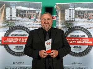 Victorian truckie awarded Bandag Highway Guardian