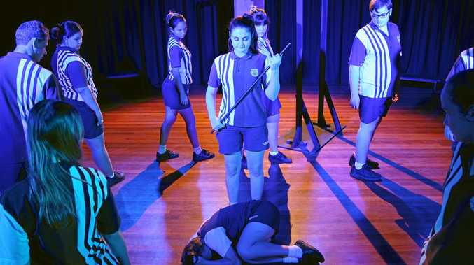 MEANINGFUL CREATIONS: Rockhampton State High Schools will perform their first Drama and Dance Showcase tonight, after it sold out in just eight days.