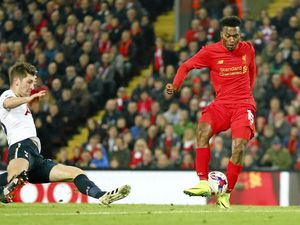 Sturridge double helps Liverpool into cup quarter-finals