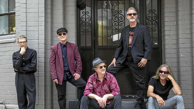 ROCK OUT: GANGgajang is performing at the Airlie Beach Festival of Music in November.