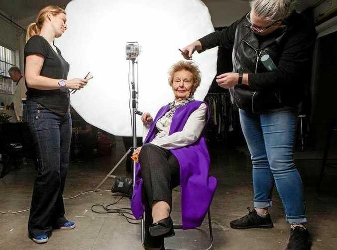 Joyce Carey, 96, is a model with Silverfox MGMT.