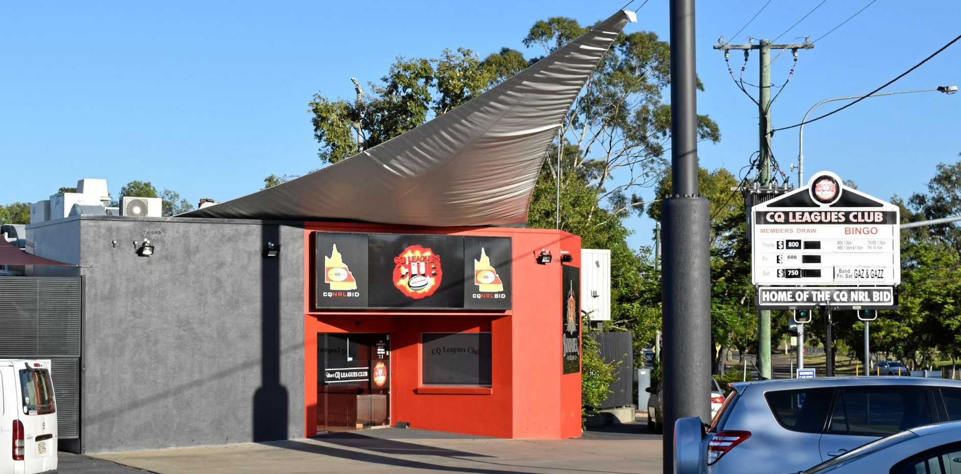 NO CLOSURE: CQ Leagues Club chairman Geoff Murphy says there are no plans to close the club, although members have been asked to support the venue through tough economic times.
