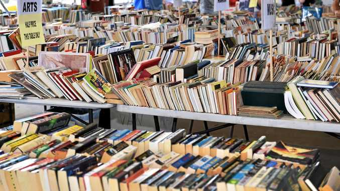 GRAB A BARGAIN: Dalby Lifeline Bookfest will be held on Friday and Saturday.